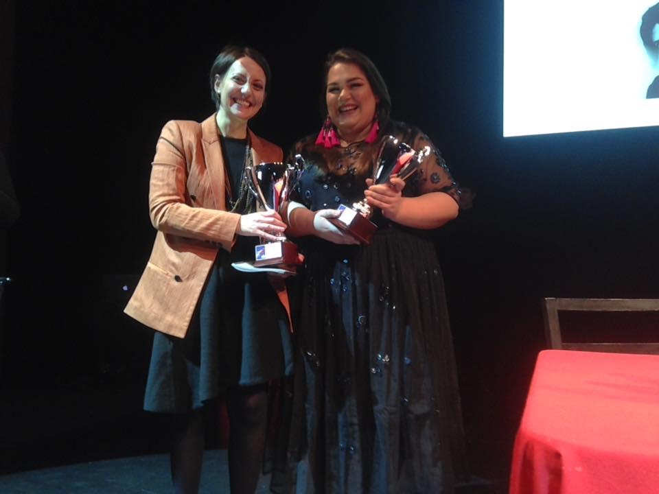 Claudia Marsicano premio UBU 2017 miglior attrice under 35