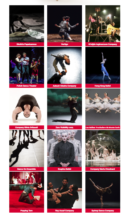 Claudia Marsicano Belgrade Dance festival 2018 locandina