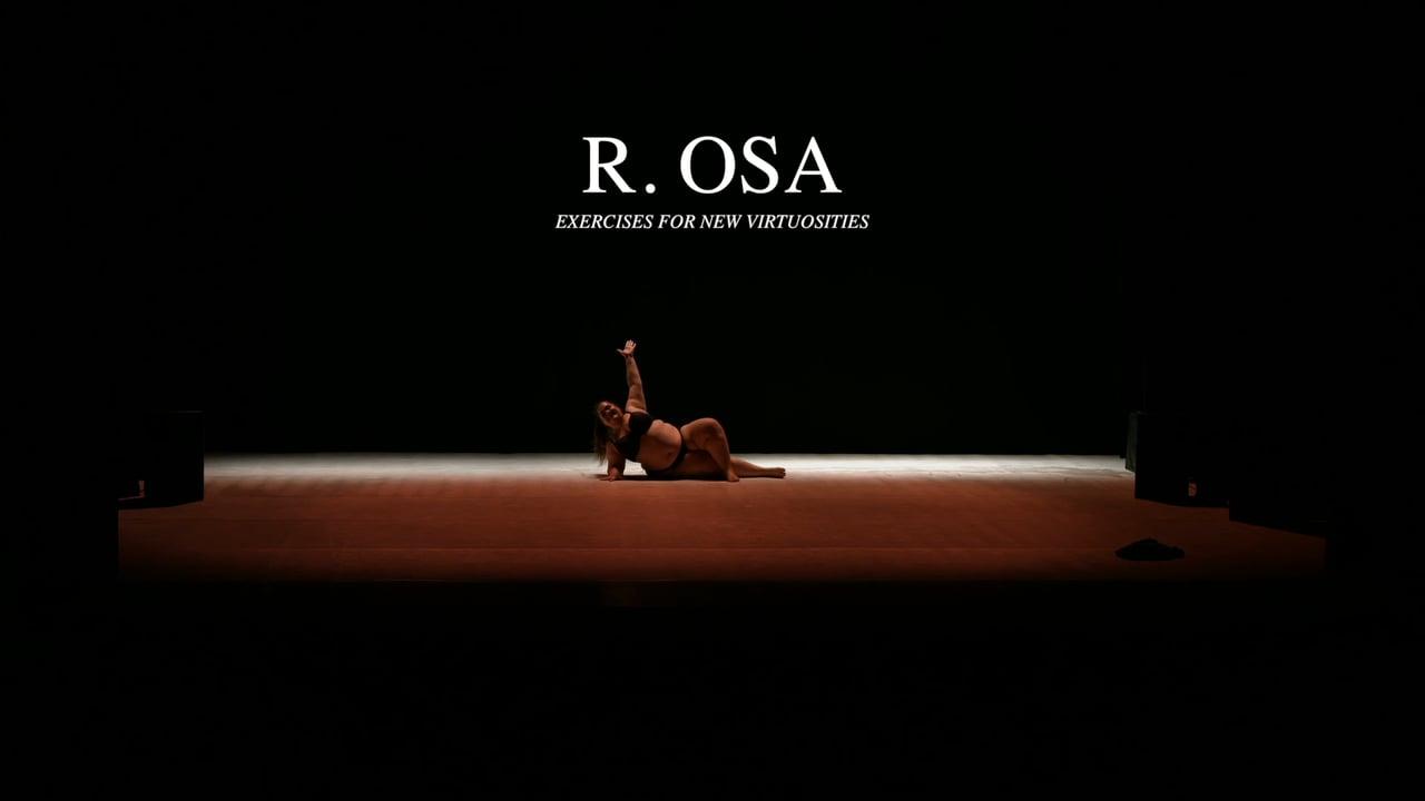 Claudia Marsicano in R.Osa, Esercizi per nuovi virtuosismi