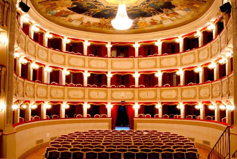 Teatro Porto San Giorgio Fermo Marche