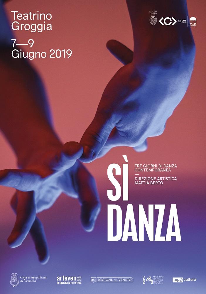 Locandina sì danza teatrino groggia - venezia - 2019